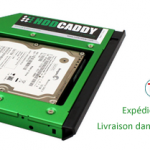 HDD Caddy pour Asus X42, X43, X44, X45 ordinateur portable
