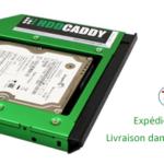 HDD Caddy pour Asus Zenbook UX52VS ordinateur portable