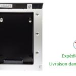 HDD Caddy pour Dell Latitude E6400, E6500, E6410, E6510 & Precision M4400, M4500, M2400 ordinateur portable
